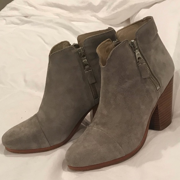 f8ae0a8456 Rag & Bone Margot Bootie in Light Grey
